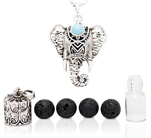 Tangerine 1 Ounce Alcohol (NEW YEAR SALE: Gorgeous Eternal Elephant Aromatherapy Necklace 2 Piece Diffuser Locket Bottle Kit)