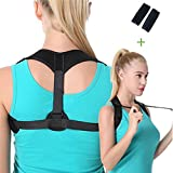 Back Brace Posture Corrector Adjustable, Back Support Corrector Posture for Women and Men – Effective and Comfortable Posture Brace for Slouching & Hunching - Discreet Design – Clavicle Support