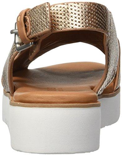 Gold Souls Gentle mujer Sandal Flat Plataforma Rose para Kiki Slingback aqqxzHw4R