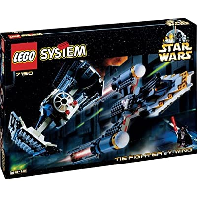 LEGO Star Wars Tie Fighter and Y Wing 7150: Toys & Games