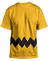 Peanuts Charlie Brown Double Sided Zig Zag Costume Shirt