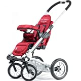 4 Rider Light Team Stroller – Red