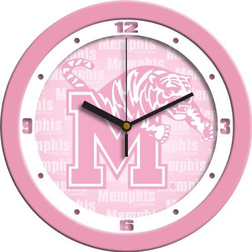 NCAA Memphis Tigers Wall Clock - (Tigers Pink Wall Clock)