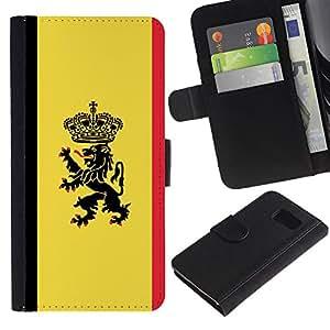 Stuss Case / Funda Carcasa PU de Cuero - Cresta de la bandera MAJESTIC - Sony Xperia Z3 Compact