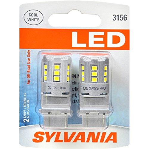 SYLVANIA 3156 White Contains Bulbs