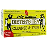 Only Natural Cleansing Diet Tea Lemon 24 bag ( 12 Pack)