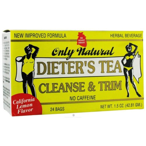 Only Natural Cleansing Diet Tea Lemon 24 bag ( 12 Pack) by Only Natural