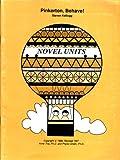 Pinkerton, Behave! Teacher Guide, Novel Units, Inc. Staff, 1561372617