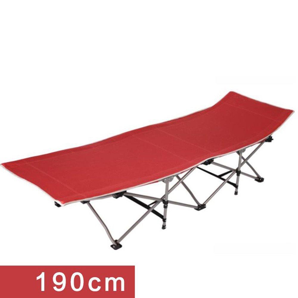 Zheng A折りたたみベッドシングルベッドソファシンプルオフィスランチCampベッドContactアウトドアEscort B074FXKL3D 190cme 190cme