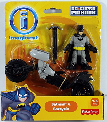 Fisher-Price Imaginext DC Super Friends Set - Scarecrow, Poison Ivy, Batman, Superman, Wonder Woman, K Croc, Joker, Harley Quinn, Captain Cold & Clayface