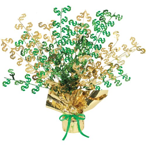 $ Gleam 'N Burst Centerpiece Party Accessory (1 count) (1/Pkg)