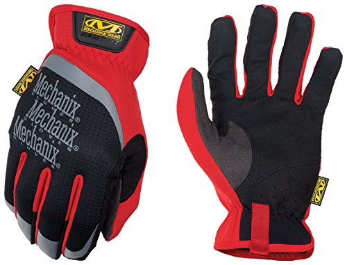 Mechanix Wear Small Black And Red FastFit Full Fin ()
