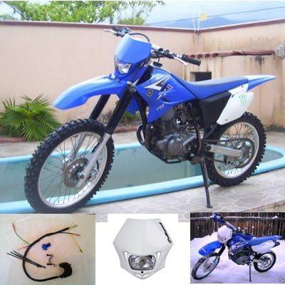 White Yamaha TTR230 Headlight Kit