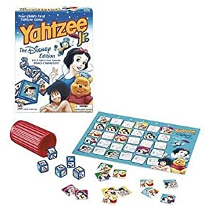 Yahtzee Jr. -  The Disney Edition