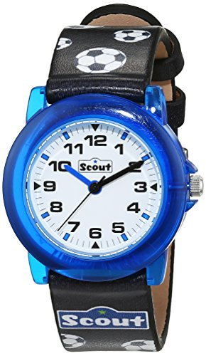 SCOUT Uhren Jungen-Armbanduhr Analog Quarz Kunstleder 280305019