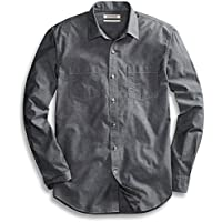 Goodthreads Men's Standard-Fit Long-Sleeve Chambray Shirt