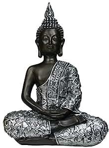 Figura decorativa Khevga de buda sentado, 30cm
