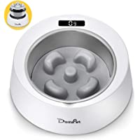 Domipet 2 In 1 Smart Weighing Interactive Puzzle Anti-Slip Food Pet Bowl