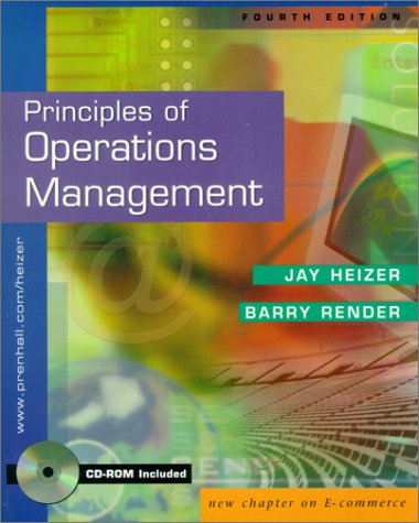 Principles of Operations Management and Interactive CD Package (4th Edition)