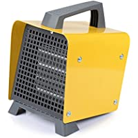 Small Personal Portable Space Heater, Ceramic Heater with Adjustable Thermostat, Safe Over-Heat Protection, Fast Heating Electric Heater Fan Indoor Perfect for Office Home