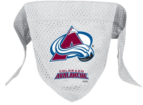 Hunter Mfg. LLP NHL Colorado Avalanche Pet Bandana, Team Color, Small