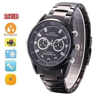 Miebul 16GB Wrist Smart Watch Camera HD 1080P Infrared Night Vision High-end Camera by Miebul
