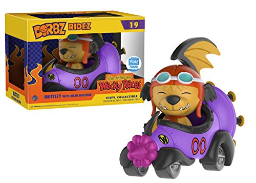 Dorbz Ridez Wacky Races Muttley with Mean Machine 3000 only