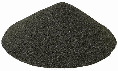 BLACK BEAUTY¨ Abrasives Blast Media Extra Fine Abrasive 30/60 Mesh Size for use in Sandblast Cabinet - 25 LBS