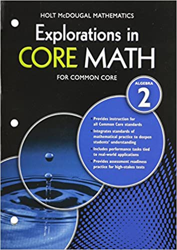 Amazon explorations in core math common core student edition explorations in core math common core student edition softcover algebra 2 1st edition fandeluxe Image collections
