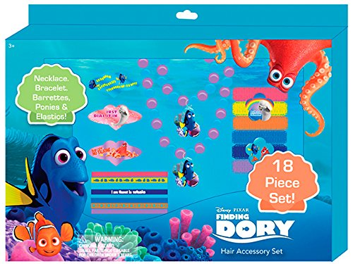 Finding Dory Assorted Hair and Jewelry Accessory Set (Set of -