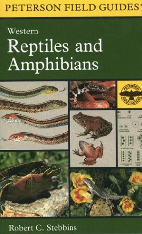 A Field Guide to Western Reptiles and Amphibians - Book #16 of the Peterson Field Guides