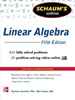 Schaum's Outline of Linear Algebra, 5th Edition Front Cover