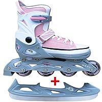 Cox Swain Sneak Kinder Inline Skates & Kinder Schlittschuh 2 in 1 -...