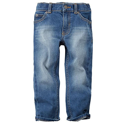 Carter's Little Boys 5-Pocket Medium Wash Skinny Jeans (Toddler)