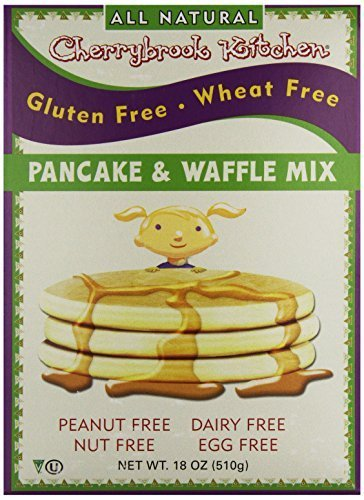Free Gluten Cherrybrook Kitchen (Cherrybrook Kitchen Gluten Free Pancake and Waffle Mix, 18 oz by Cherrybrook Kitchen)