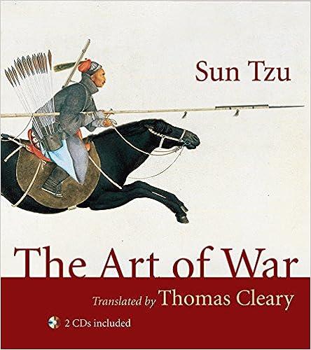 341846b303f6 Amazon.com: The Art of War (9781590307434): Sun Tzu, Thomas Cleary ...