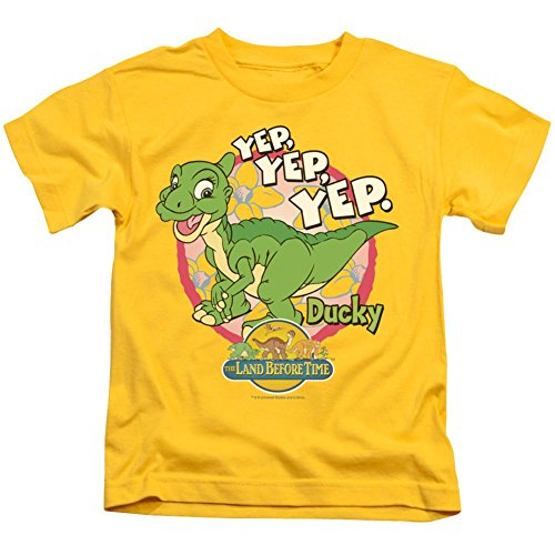 Youth: Land Before Time - Ducky T-Shirt Size 5/6 ()