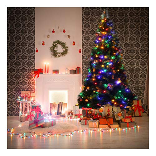 Artificial Christmas Tree Multicolor Led Lights in US - 7