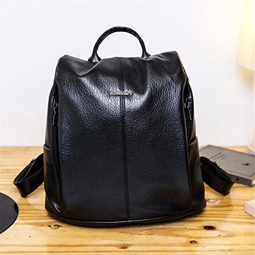 WanJiaherrenhop Meine Damen Rucksack Doppel Schulter Rucksack multifunktionale Tasche Lady Rucksack