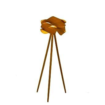 Gluckstein Stehlampe Mit Feine Blumeschirm Und Dreibeinigem