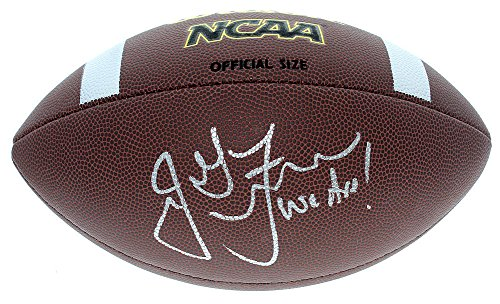 James Franklin Penn State Nittany Lions Autographed Signed Wilson NCAA Football - JSA Authentic