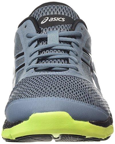 Asics 33-DFA 2 - Scarpe Running Uomo, Blu (Blue Mirage/Black/Flash Yellow 6290), 44 EU Blu (Blue Mirage/Black/Flash Yellow 6290)