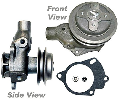1941 Pickup - APDTY 109848 Water Pump & Gasket 637053 Fits Jeep 4-134 L-Head Engine (Willys; CJ; Pickup; Jeepster; C101; Station Wagon Willys MB 1941-1945 Hurricane Engine, Jeep CJ-2A (1945-1949)