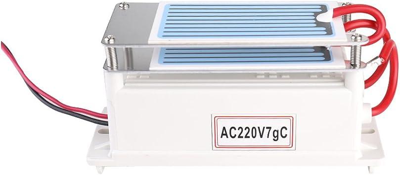 KKmoon Generador de cerámica portátil del ozono del generador 7g ...