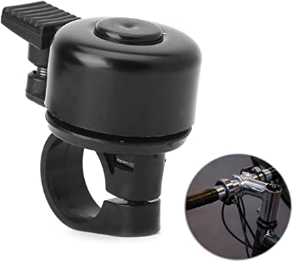 Metal Ring Handlebar Bell Sound for Bike Bicycle Black Easy to install