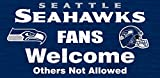 Fan Creations N0617 Seattle Seahawks Fans Welcome Sign