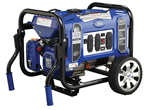 Ford FG4650P M Series 4650W Peak 3600W Rated Portable Gas-Powered Generator (4650 Series)