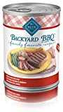 Blue Buffalo Family Favorites Natural Adult Wet Dog Food, Backyard Bbq 12.5-Oz Can (Pack Of 12)