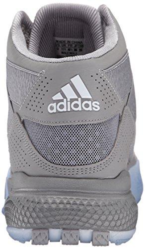 Adidas Prestaties Heren D Steeg 773 Iv Basketbalschoen Licht Onix / Zwart / Wit