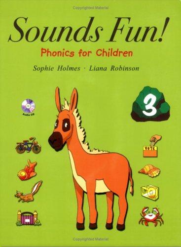 Sounds Fun! 3, Phonics for Children, with Audio CD (Long Vowels & Double Letter Consonants) (Long Cd Vowels)